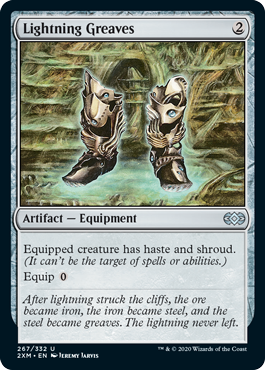 Lightning Greaves Foil