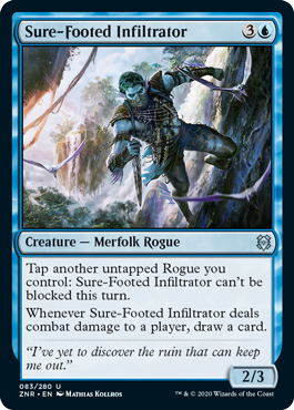 Sure-Footed Infiltrator Foil