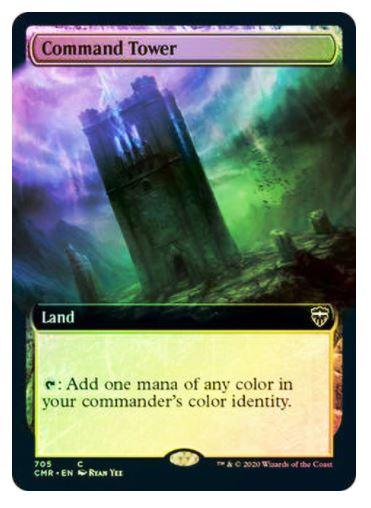 Command Tower- Commander Legends - Variants (F)