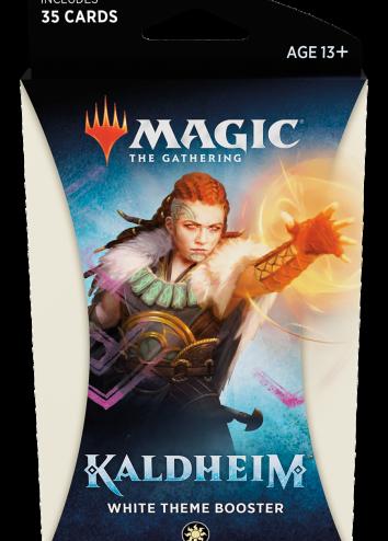 Kaldheim  Booster Theme biały 35 kart