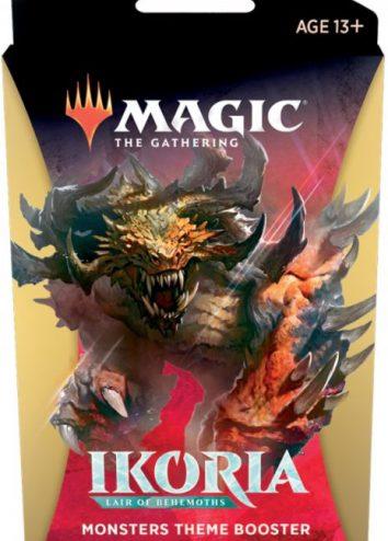 Ikoria: Lair of Behemoths, Booster Theme biały