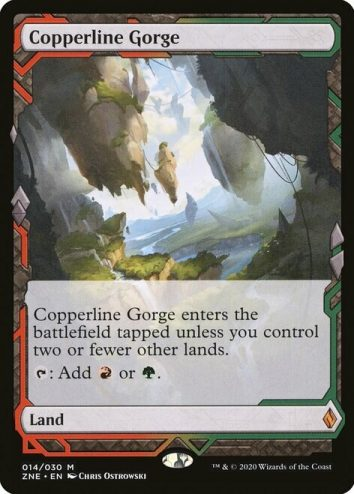 Copperline Gorge, Zendikar Rising Expeditions