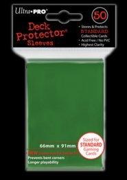 Koszulki (protektory) ultra pro zielone 50s