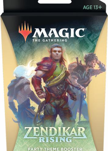 Zendikar Rising Theme Booster Party 35 kart