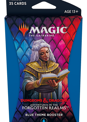 Forgotten Realms Theme Booster Blue