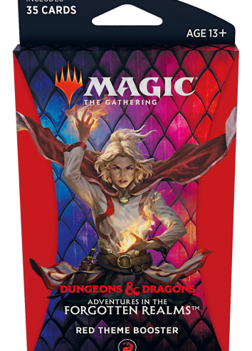 Forgotten Realms Theme Booster Red