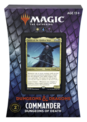 Forgotten Realms Commander Dungeons of Death