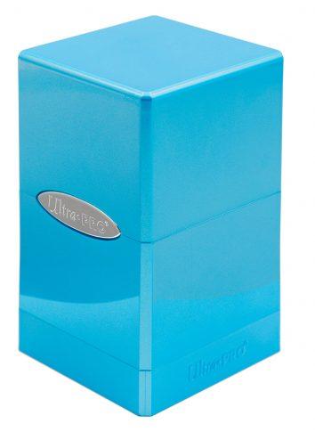 Pudełko Satynowe Hi-Gloss Jasnoniebieskie