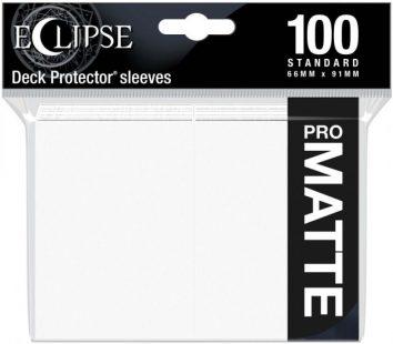 Koszulki Białe Pro Matowe 100s