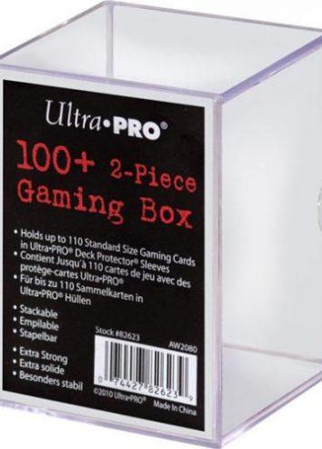 Pudełko plastikowe 2-częściowe na 100+ kart