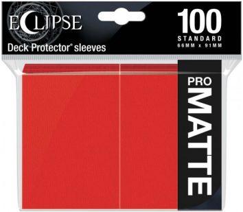 Koszulki Czerwone Pro Matowe 100s