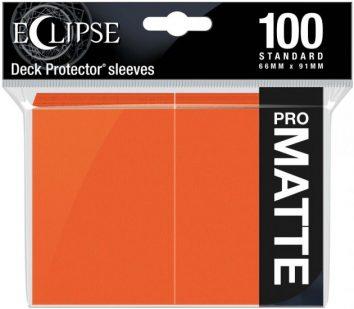 Koszulki Pomarańczowe Pro Matowe 100s