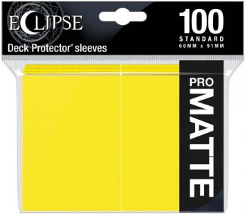 Koszulki Żółte Pro Matowe 100s